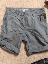 Mountain Warehouse shorts size 8