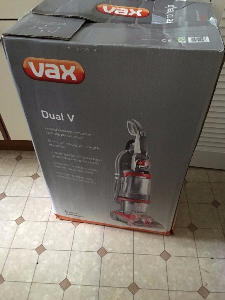 Vax V 124a Dual V Upright Carpet Cleaner Carpet Vidalondon