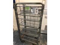 FREE Metal Wheeled Cage