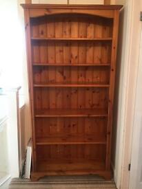 Beautiful pine book shelf