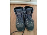 Scarpa Women's Mistral GOR-TEX Walking Boots - Grey Colour in Very Good Condition