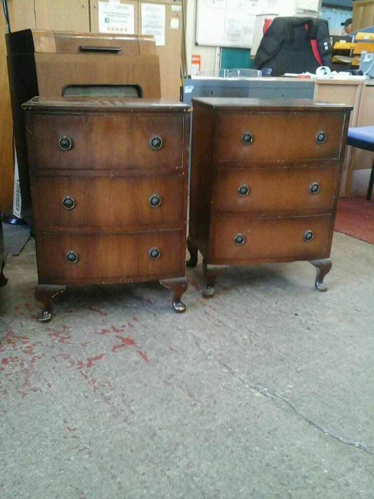 Vintage bedside tables   in Newcastle, Tyne and Wear   Gumtree