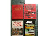 Military weapons and battle books fire arms vehicles etc