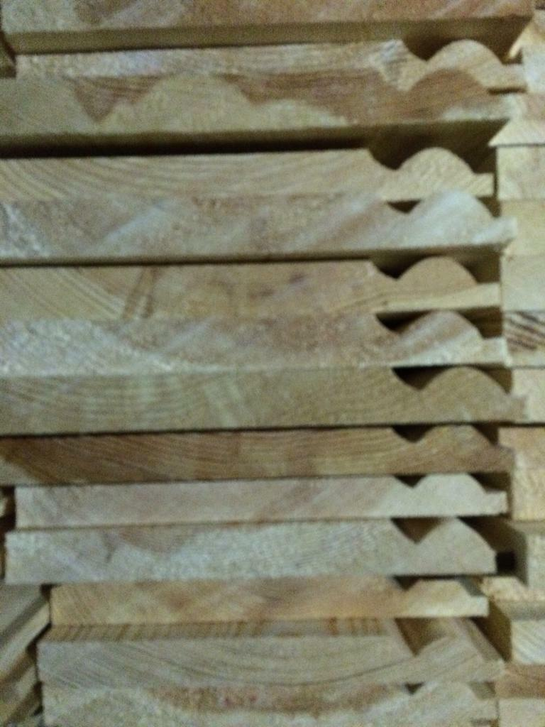 """New ANTIQUE timber 8"""" skirting board"""