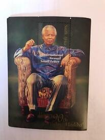 Nelson Mandela 90th birthday First Day covers and stamps