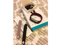 Excellent condition Fitbit Alta Plum Small with box and extra bands