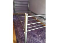 Single bed frame ( can deliver)