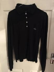 Vivienne Westwood long sleeve polo shirt t shirt