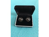 Cuff links, with name initials J at only £15,no time wasters please,immaculate