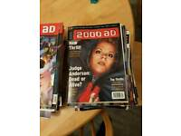 Selection of around 100 2000ad comic books