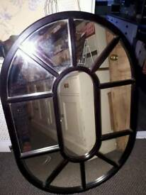 Unusual large mirror