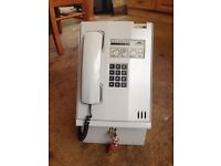 Solitaire coin opp telephone all metal case