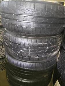 4 winter tires pirelli sottozero 245/50r18