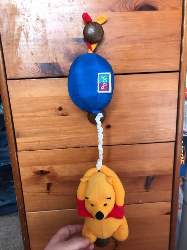 Winnie the poor pull and play toy