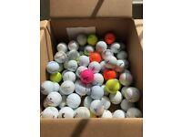 Golf Balls Mixed Bundle x 85 Golf Balls, Titleist, Srixon, Wilson etc