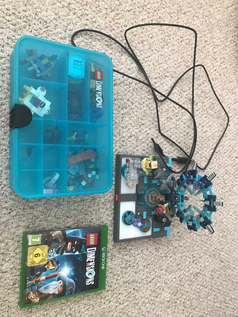 Immaculate fully working Lego dimensions Xbox one  game,case,figures,vehicles   in Poole, Dorset   Gumtree