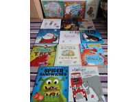 Book bundle including 2 audio book CDs (14 books)