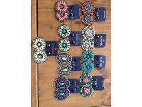 9 Pairs Earrings WHOLESALE I closed my online shop