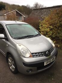 Nissan Note 1.6 16v SVE 5dr Automatic ONLY 46k and Spare Winter Tyres