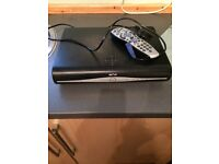 Sky + HD box . Immaculate condition comes with HD lead , power lead and remote