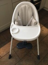 Mamas and Papas high/low high chair