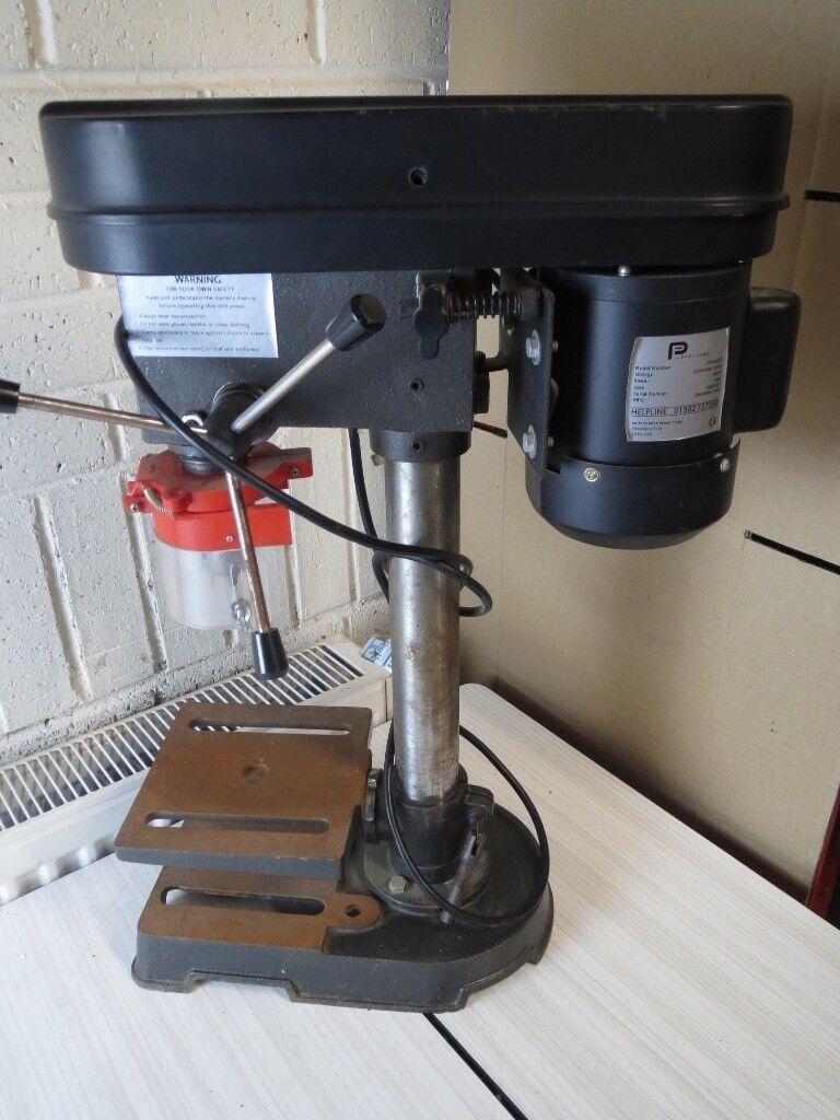 Performance Power Pillar Drill Press Bench Top Mounted