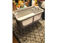 Chicco next to me baby bedside cot crib bed