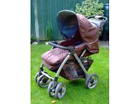 Maxim Pushchair. Suitable for newborn and up.