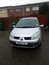 Renault scenic, mot til may, low miles, great runner!!