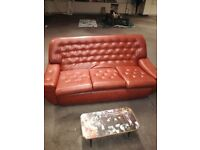 Vintage sofa plus two sigle seat