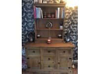 Mexican Corona Furniture, Large Sideboard, Bookcase, 2 Side Tables