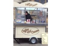 Catering trailer - ice cream trailer - coffee trailer