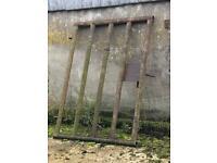 Two five foot farm gates