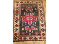 Antique turkish rug aprrox 25 years old