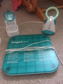 Angle care baby monitor