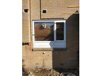 680 x 1225mm Window PVC with fan