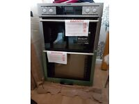 Brand new aeg double oven