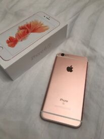 iphone 16gb in rose gold on O2 contract