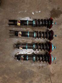 Few Honda Civic Fancy Parts Goodies EK EG EJ Coilovers Spoon Sprint Alloys Recaro