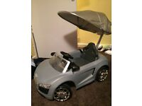 Children's Audi R8 Push along buggy/ride on car