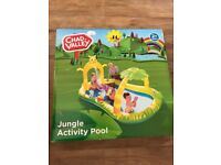 Chad Valley Jungle Activity paddling pool