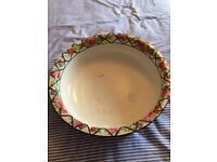 Edwardian dressing table wash bowl