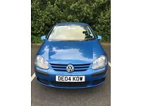 VW Golf 1.9tdi 2004 low mileage!