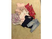 9-12&12-18 months girls summer clothes