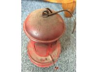 Old fashioned mechanics gas heater