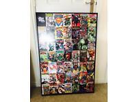 Marvel heros (retro) AVengers - large canvas x 2