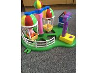 (SOLD) Peppa Pig Deluxe Balloon Ride Playset