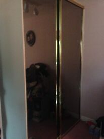 2 sets of double sliding wArdrobes
