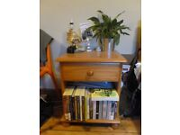 Pine bedside table for sale