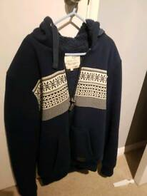 Thick winter mens hoody. Size Large